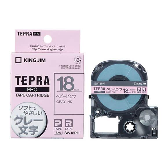 เทปพิมพ์อักษร TEPRA PRO รุ่น Soft Color Label แบรนด์ KING JIM