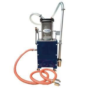 เครื่องกรองทำความสะอาดน้ำหล่อเย็นแบบหมุนเวียนด้วยระบบลม Non Woven Fabric Filter